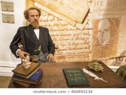 The Famous American Writer, Charles Dickens