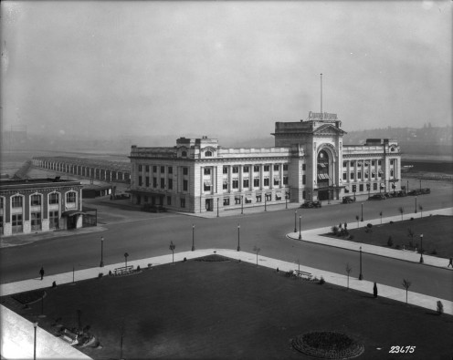 Vancouver Station and grounds, 1920s