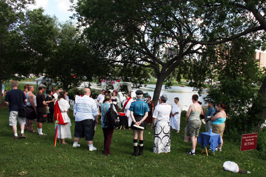 Pagan events can be a great way to meet others who share your interests.