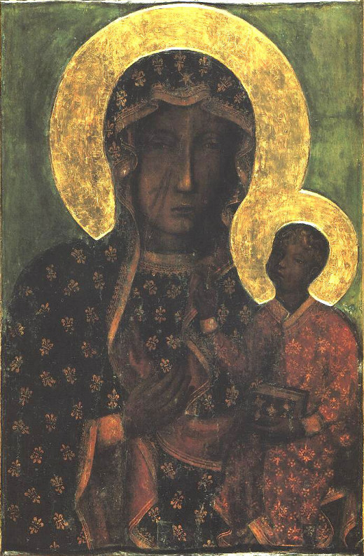 """The Black Madonna is the picture Lily's mother had kept, the back of which read """"Tiburon, South Carolina."""""""