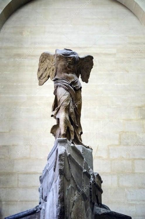 Sculpture of Nike of Samothrace  Circa. 190 bc