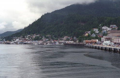 Ketchikan from sea