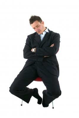 A person with narcolepsy may find it difficult to stay awake!