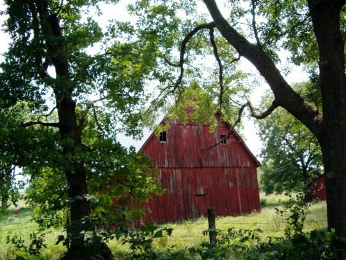 One of my favorite types of barns.
