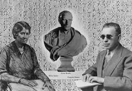 Louis Braille and Helen Keller