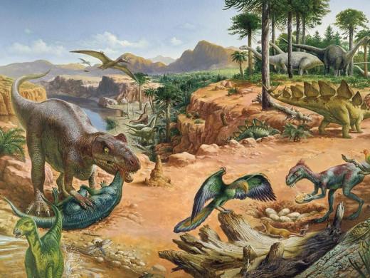 Ruling Period of Reptiles