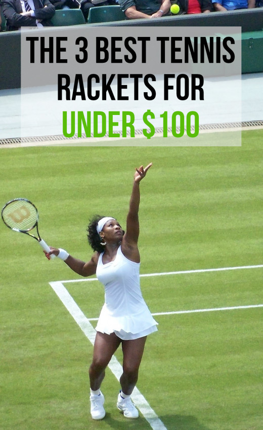 Serena Williams tosses to serve. Out of all the essential tennis equipment that a player needs, the racket is perhaps the most crucial.  Getting one that feels good and suits your game can even make the difference between winning and losing a match.
