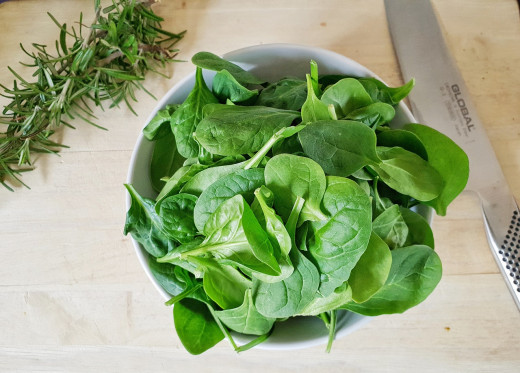 Spinach for Magnesium