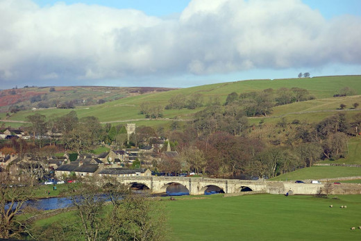 Burnsall in Wharfedale, Dales charm and rich in local history