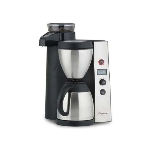 Capresso CoffeeTEAM Thermal Coffee Maker with Conical Burr Grinder