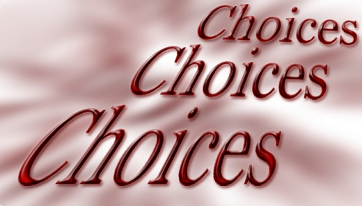 An eloquent speaker has many options when considering the right word. The art lies in the process of selection.