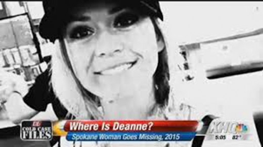 Local news began reporting about Deanne Hasting's disappearance in Spokane, Washington in November 2015.