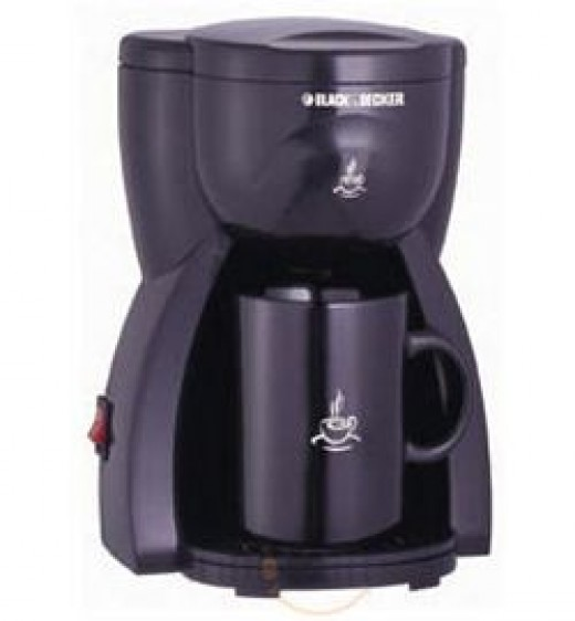 Black & Decker 1 Cup Coffee Maker DCM 15