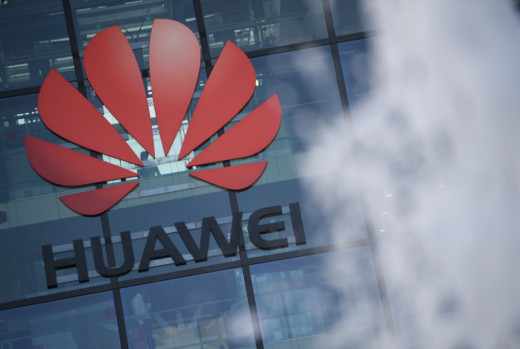 """In March 2019, Huawei established a cybersecurity centre in Brussels that would allow the clarification of its """"source code"""" (AFP)"""