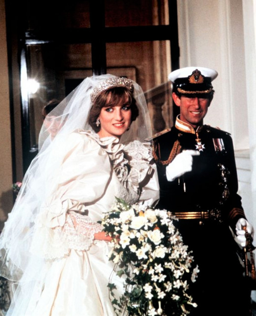 Prince Charles and Princess Dianna got married July 29, 1981