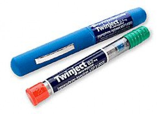 Epinephrine Injection Pens to give shots with in case of a insect sting.