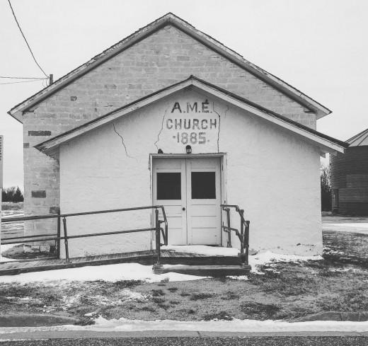 AME Church in Nicodemus, KS