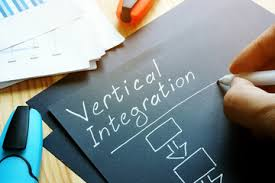 Vertical integration to achieve economies of scale
