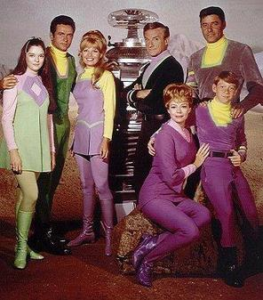 The cast of Lost in Space - 1967.