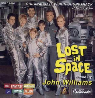 The Lost in Space cast on the opening season.