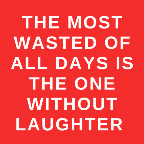 A Thought on Laughter