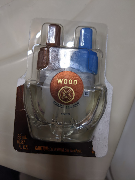 This is wood scent