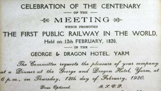 Memento of that 1820 meeting, the 100th anniversary