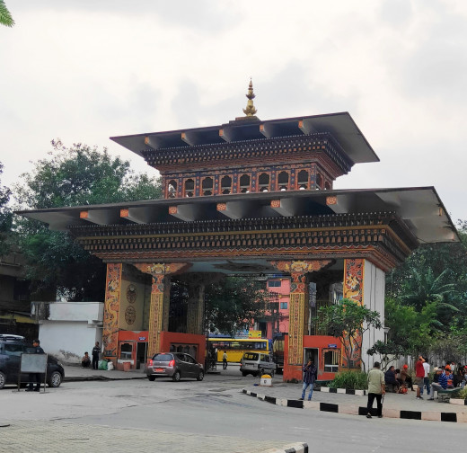 Bhutan Gate