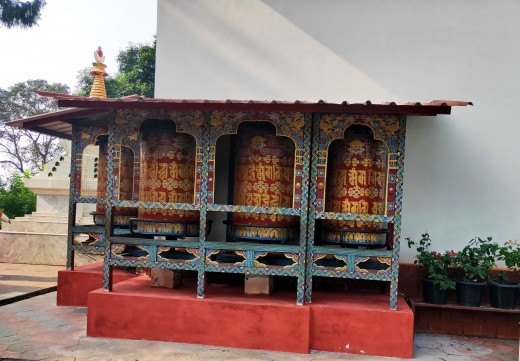 Stationary Prayer Wheel