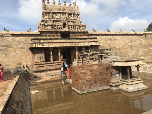 Airavatesvara temple entrance