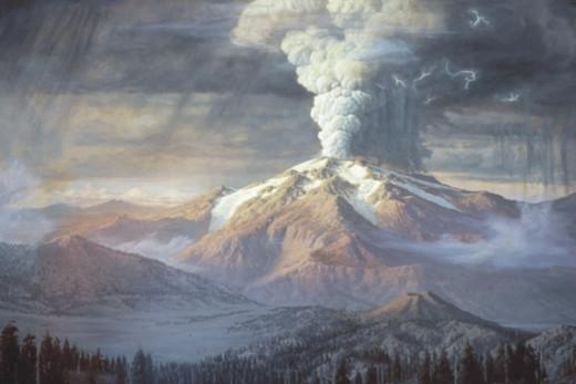 Eruption of Mt. Mazama