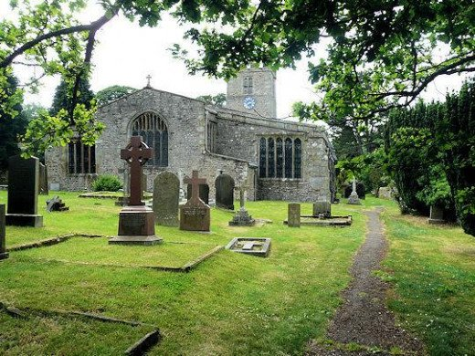St Andrew's church, Grinton, an impressive piece of Dales architercture