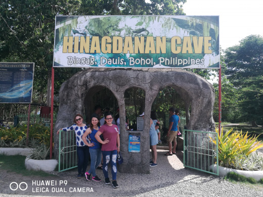 The Hinagdanan Cave of Bingag, Dauis, Bohol.