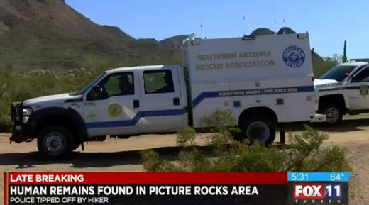 A hiker found human remains in Picture Rocks, Arizona, leaving many to wonder if they were that of Sarah Galloway who vanished almost one year ago.
