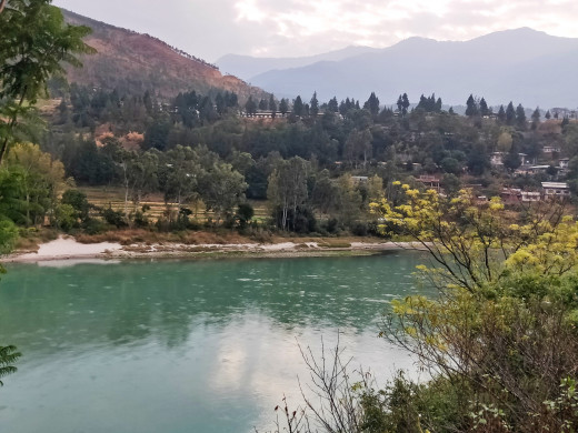 The river in Wangdue