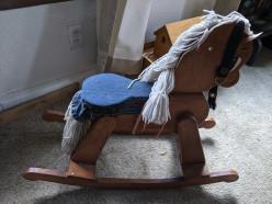 Rocking Horse Seat Redo