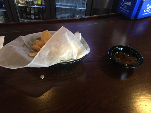 Chips and Salsa Appetizer