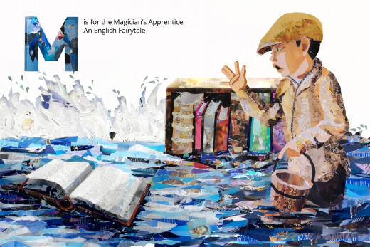 M is for The Master Magician's Apprentice
