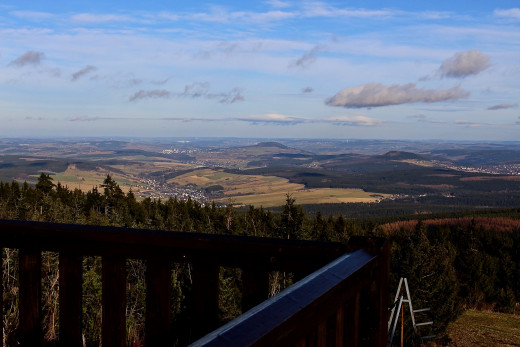 Overlooking Germany and the Czech Republic