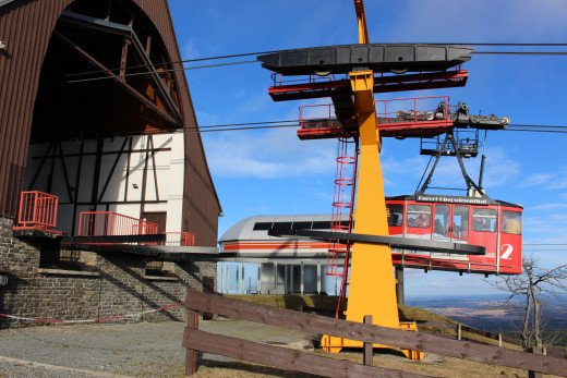 Fichtelberg Cable Car before the snow