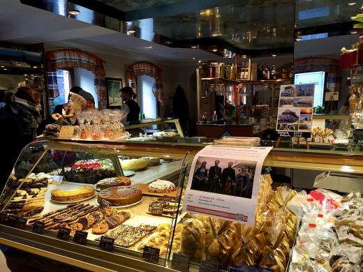 More delicious cakes at Café König