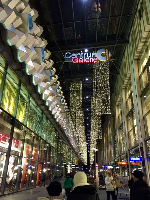 The main shopping centre in Dresden