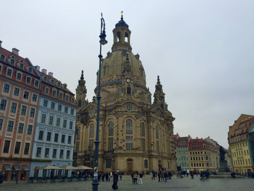 The magnificent Frauenkirche