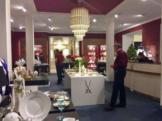 Meissen Porcelain shop