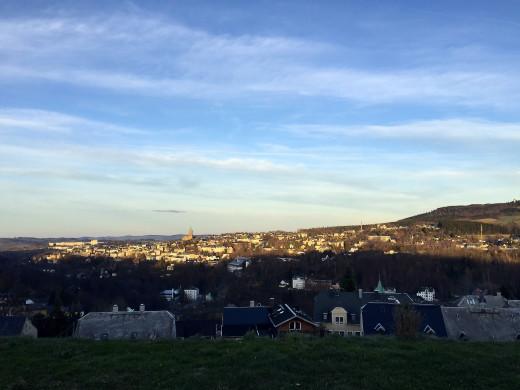 Overlooking Annaberg-Bucholz