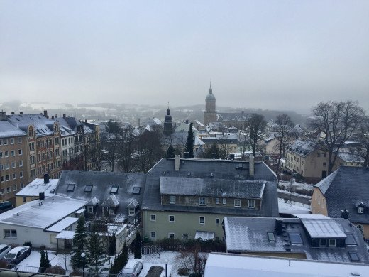 Annaberg after a snow fall