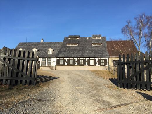 An old mining village