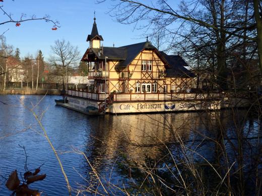 The fantastic Schwanenschlökchen Restaurant