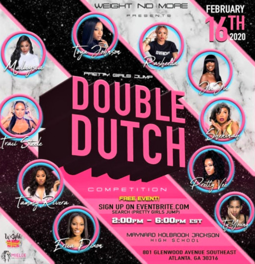Toya Johnson's first Double Dutch competition was on February 16, 2020