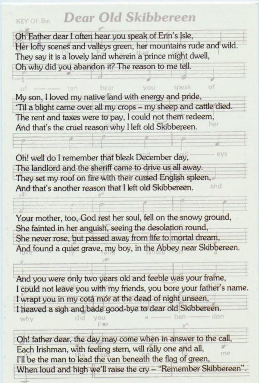 Folk Song Skibbereen